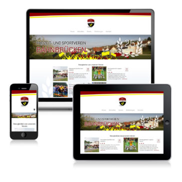 Webseite für den FSV Bahnbrücken